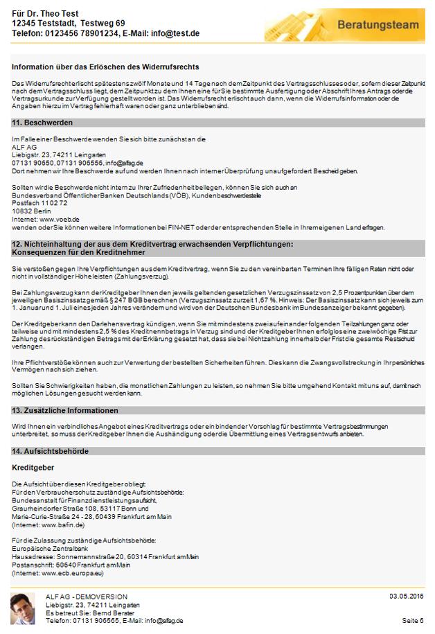 ALF-OPTIFI & ALF-EFZ: Implementierung Wohnimmobilienkreditrichtlinie ...