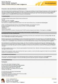 ESIS Beispiel Annuitätendarlehen, Seite 6