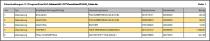 ALF-Zahlungsverkehrstool: Liste Einzelzahlungen
