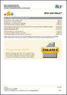 ALF-Baufinanzierung Wie viel Haus