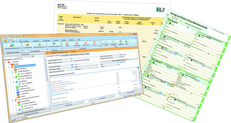 Alf Forder Forderungsverwaltungs Software Für Windows Alf Ag